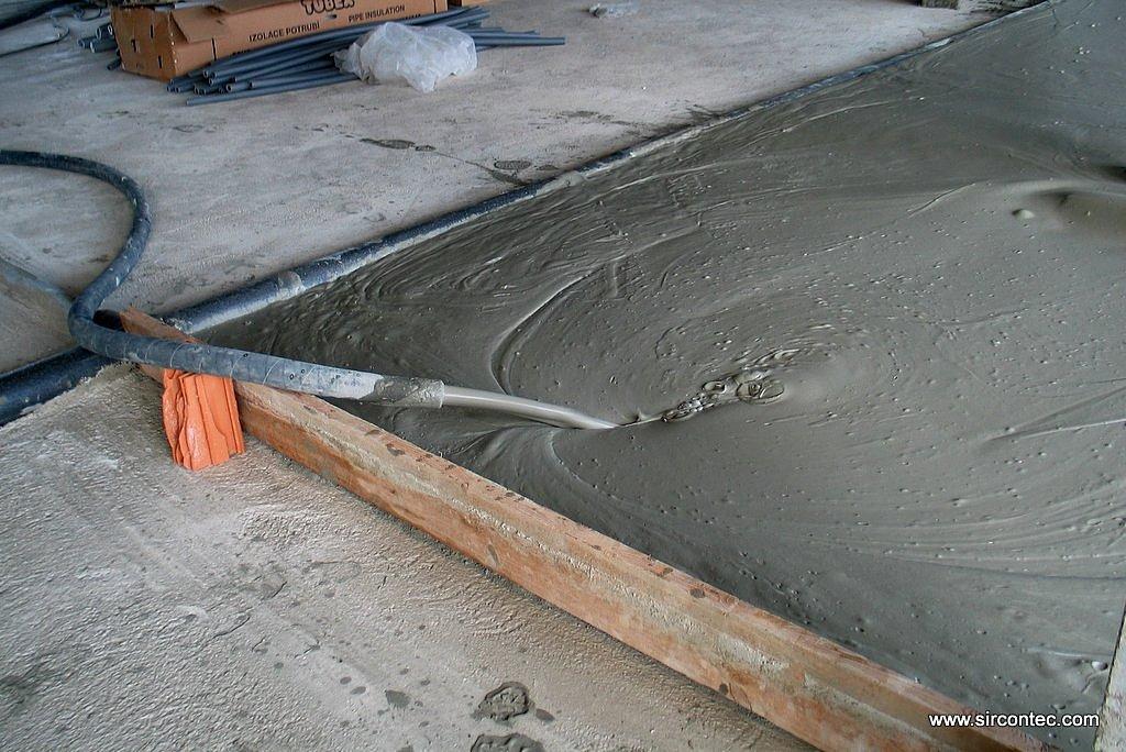 Sircontec - Intermediate floor casting ...